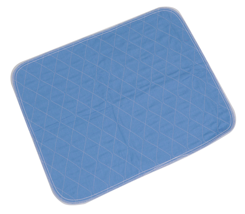 Washable Chair or Bed Pad Blue