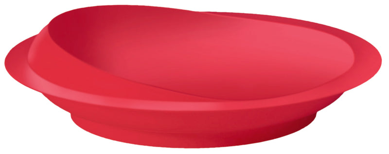 Scoop Plate Red