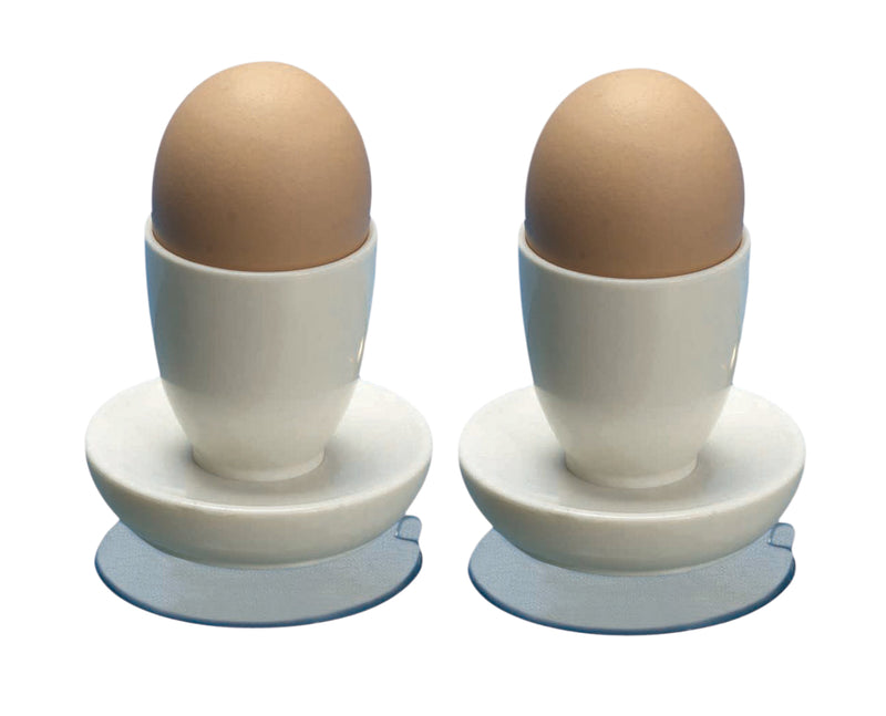 Egg Cups with Suction Base (Pair)