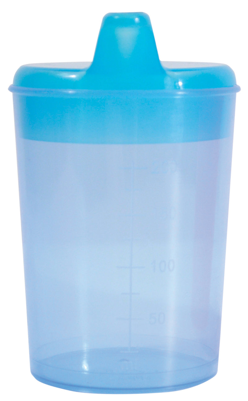 Drinking Cup with Two Spouts (Light Blue)