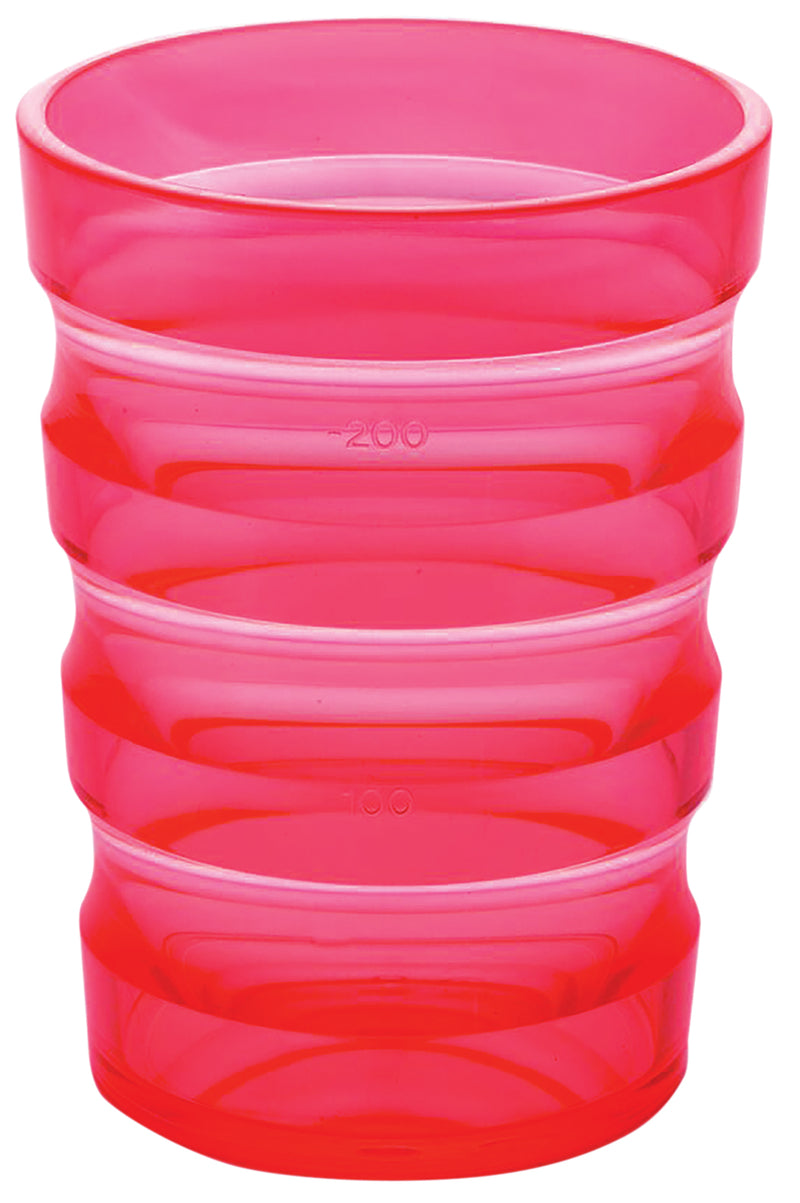 Sure Grip Mug with Cap (Small Hole) Pink