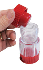 3-in-1 Pill Crusher and Cutter with Storage Red