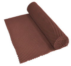 Non Slip Fabric 150x30cm Brown