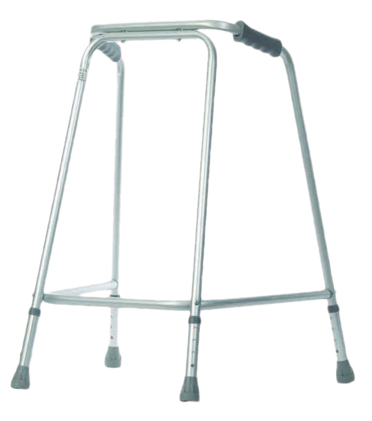 Lightweight Walking Frame-Unwheeled Large