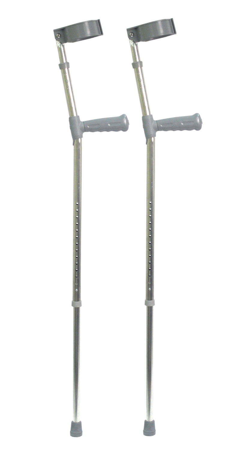 Heavy Duty  Double Adjustable Crutch (Pair)