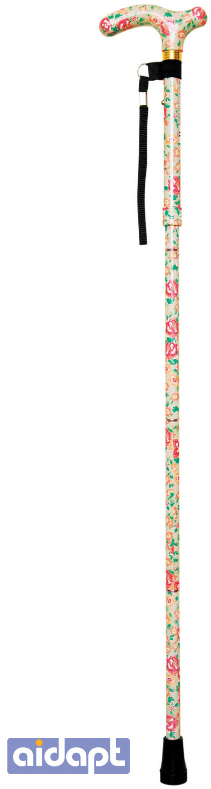 Deluxe Folding Walking Cane Blossom