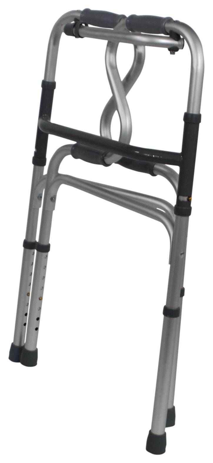 Dual Riser Deluxe Folding Walking Frame