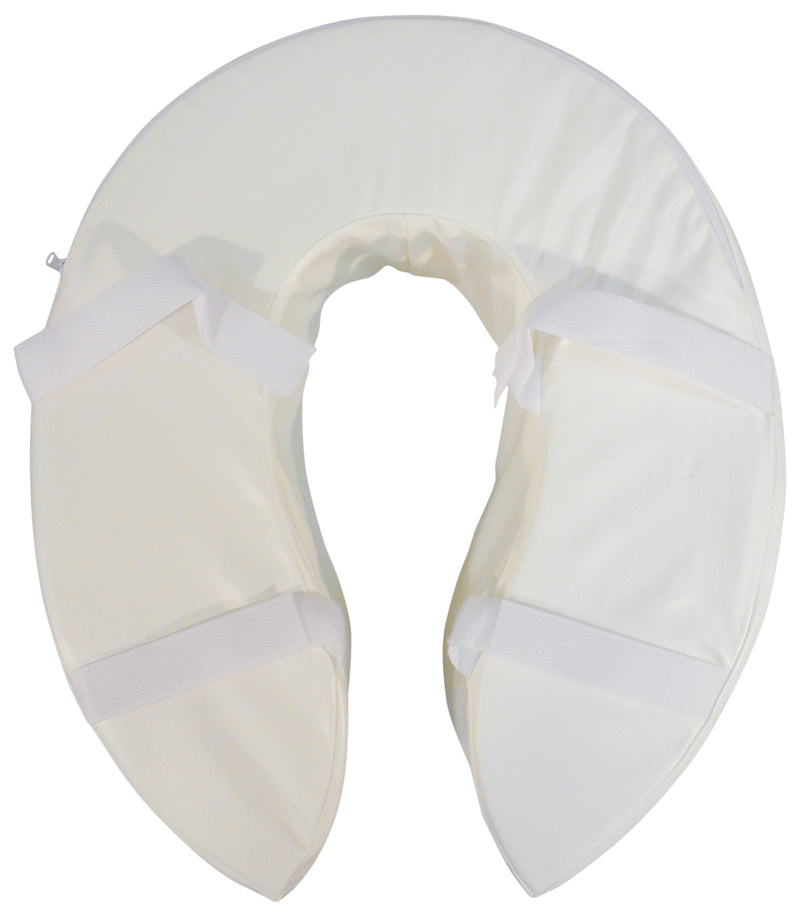 Foam Padded Raised Toilet Seat