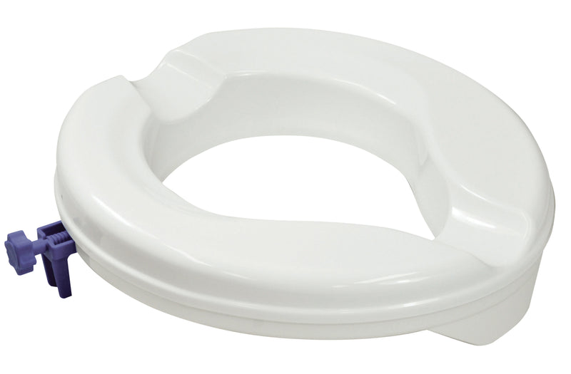 Senator Plastic Raised Toilet Seat Bulk 50mm