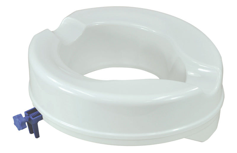 Senator Plastic Raised Toilet Seat 400mm depth