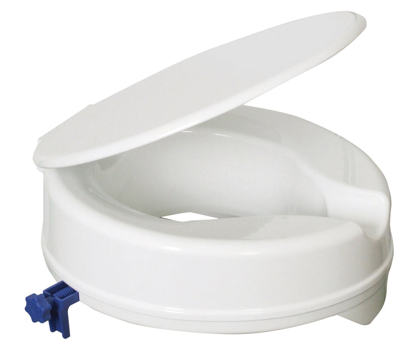 Senator Plastic Raised Toilet Seat With Lid 50 MM / 100 MM