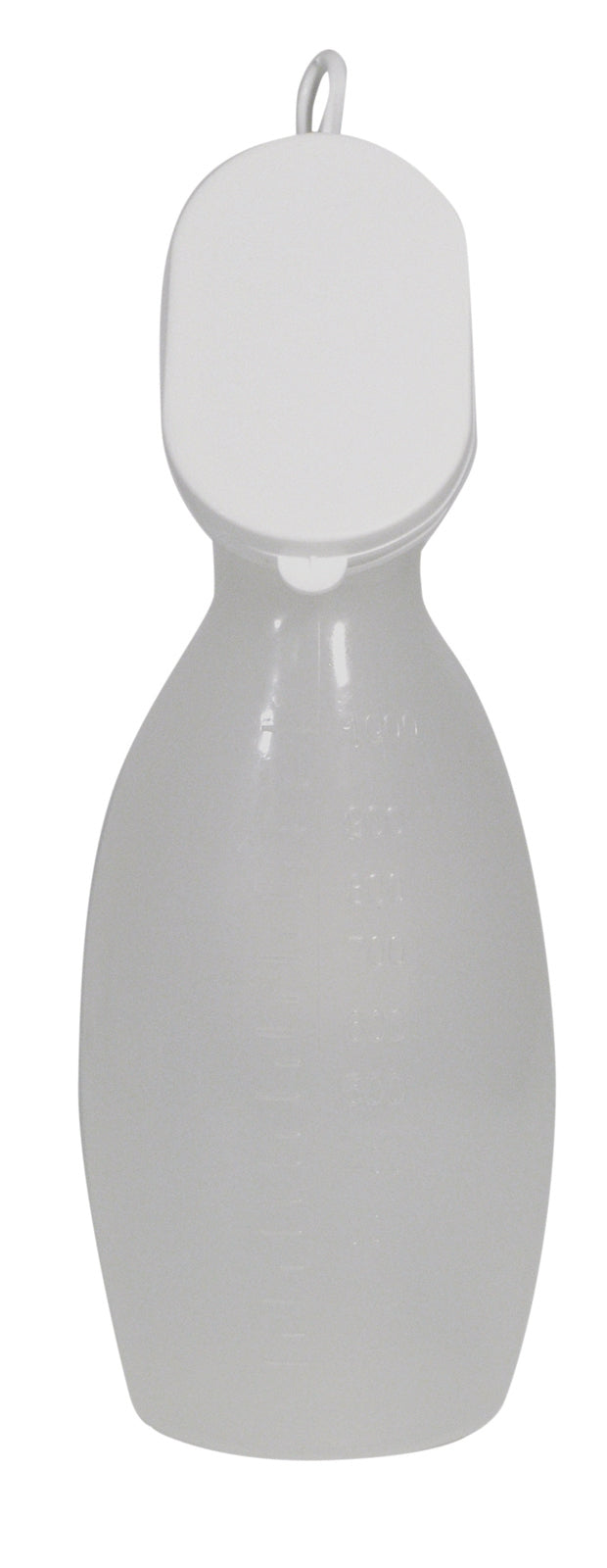 Female Portable Urinal With Lid (Poly Bag)