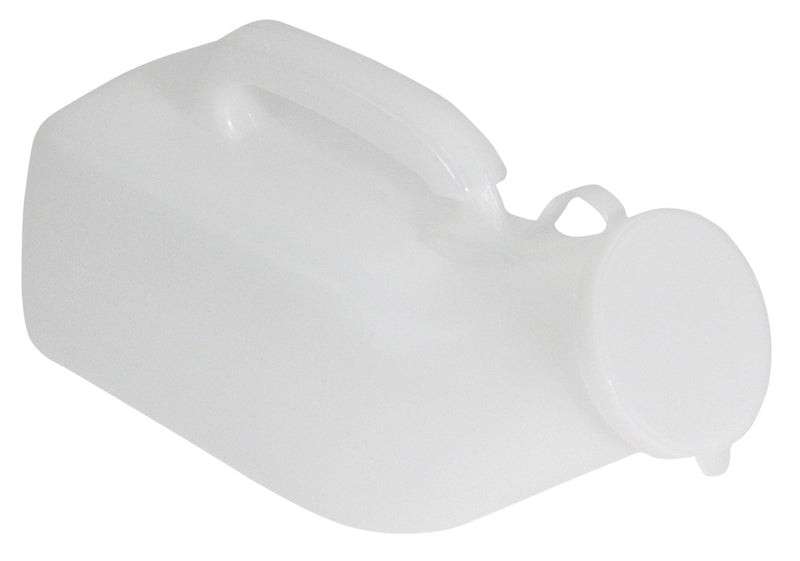 Male Urinal Bottle with Anti Spill Lid