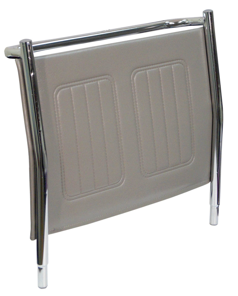 Replacement Vinyl Back For The Linton & Lenham Mobile Commode Grey