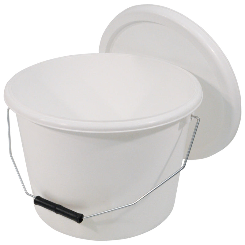 10 Litre Commode Bucket and Lid for the range of Commodes