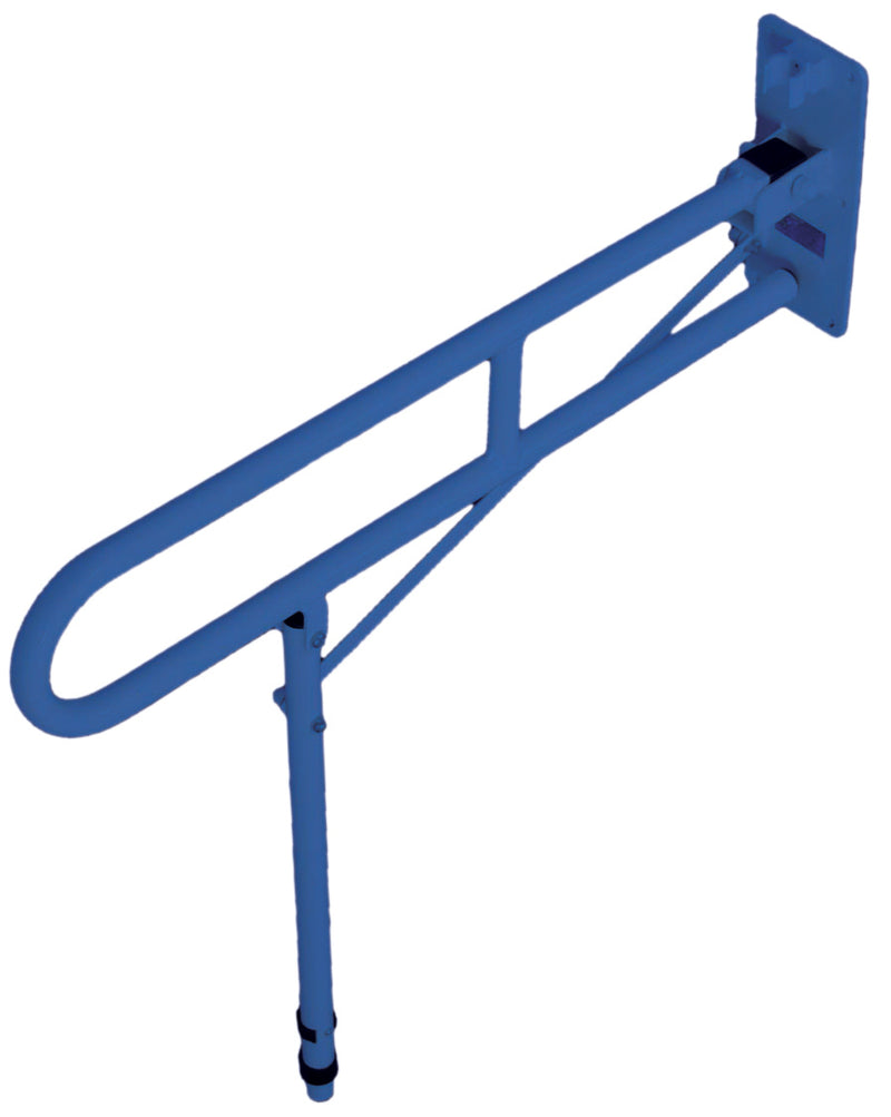 Solo Contract Hinged Arm Support-Blue 710x100x760mm