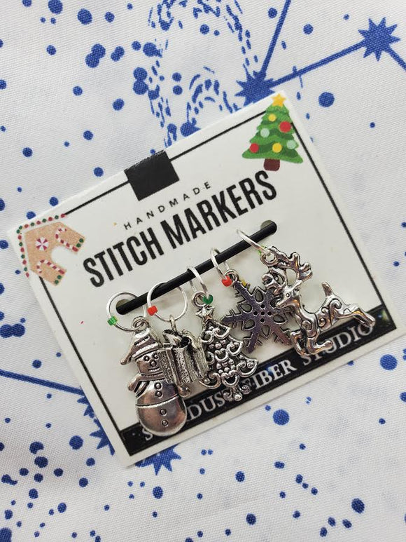 Winter Wonderland - Stitch Marker Set