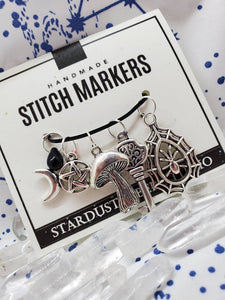 Hekate's Crossroads - Stitch Marker Set