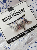 Hermes' Message - Stitch Marker Set