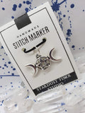 Stitch Marker - Triple Moon