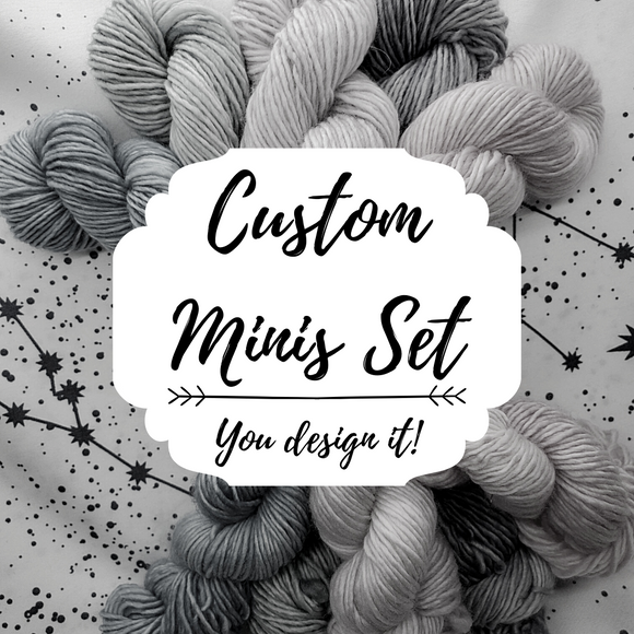Custom Minis Set Designed by YOU!