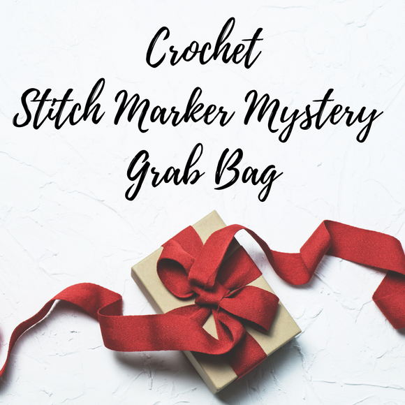 Crochet Stitch Marker Mystery Grab Bag