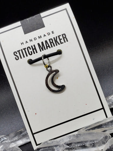 Stitch Marker - Hollow Moon