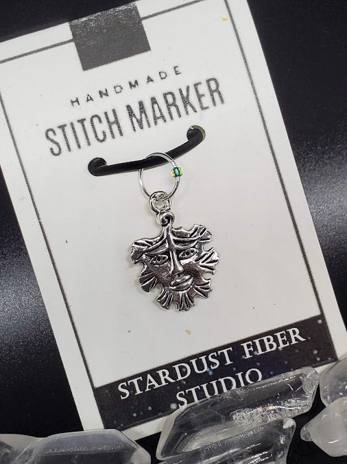 Stitch Marker - Green Man