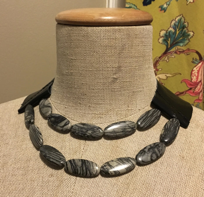 Noir Jasper Necklace