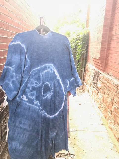 Santiago Gauze Kimono Jacket- Hand Dyed Collection-- MADE TO ORDER