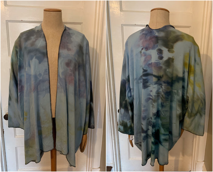 Cohima Bamboo Kimono Jacket- Handdyed Collection