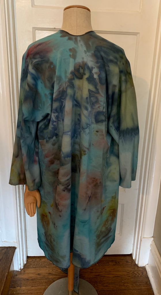 Cielo Bamboo Wrap Jacket- Handdyed Collection-MADE TO ORDER