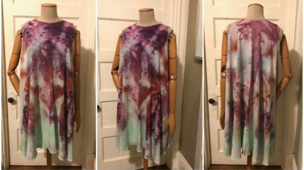 Custom Xochitl Dress/Top- Hand Dyed Collection- READY TO SHIP