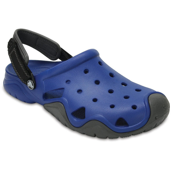 CROCS Men's Swiftwater Clog (Blue Jean/Slate Grey) - REDTACKLE