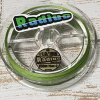 Gaudis Radius X8 Braided PE Line (Forest Green) (150m) (BlackBass)