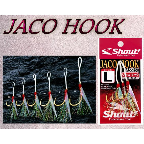 Shout Jaco Assist Hooks - REDTACKLE