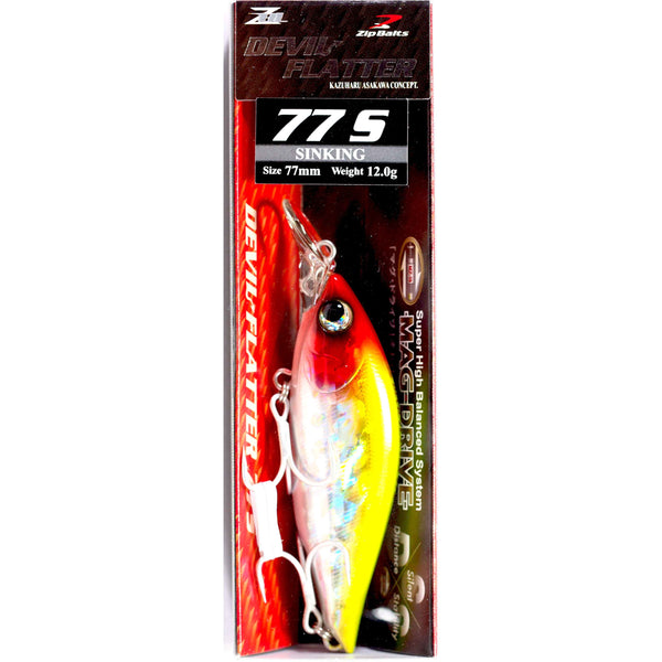 Zipbaits ZBL Devil Flatter 77s - REDTACKLE