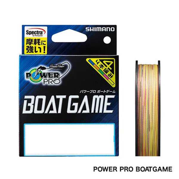Shimano PowerPro Z Boatgame Japan PE3.0 200M - REDTACKLE