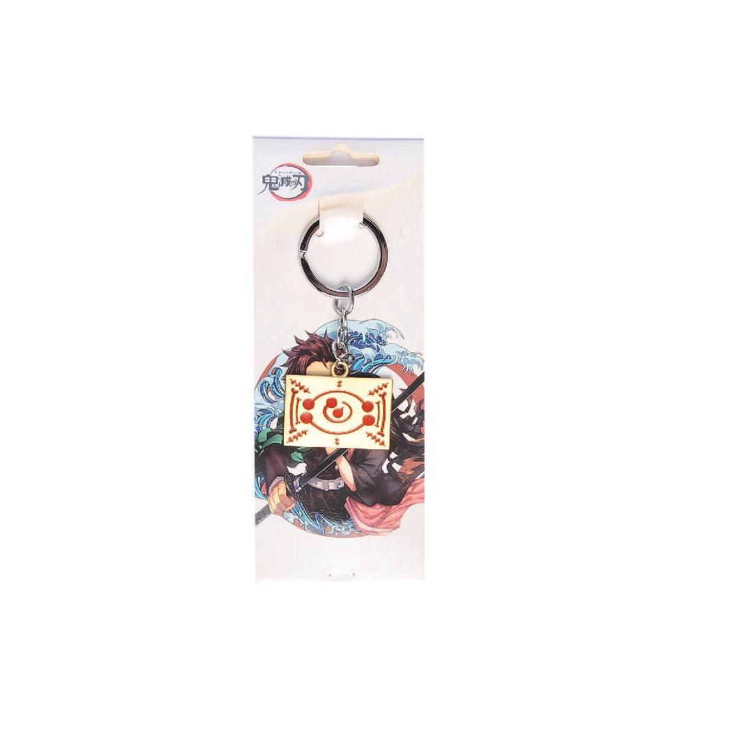 Kimeysu No Yaiba Sign Keychain