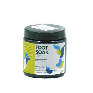 Foot Soak  (Lemongrass & Peppermint) by Organically Moi