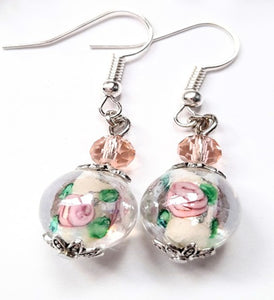 Peony Blossoms Earring