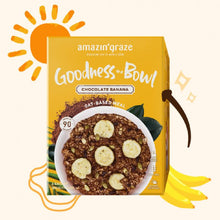 Load image into Gallery viewer, Amazin' Graze Chocolate Banana Goodness Bowl
