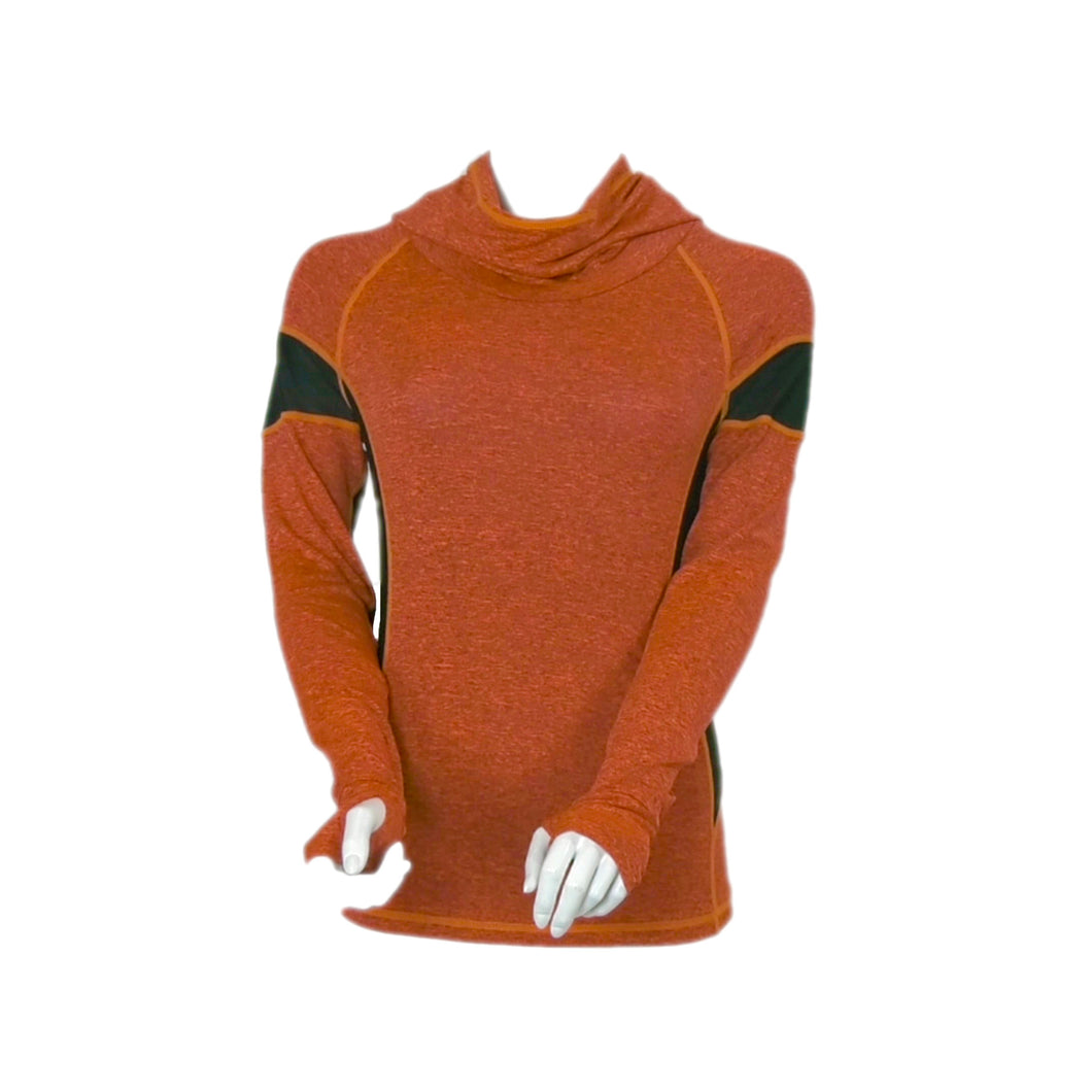 OmmyGod! Aife Yoga Slim Fit Hoodie Orange