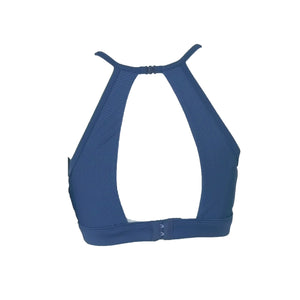OmmyGod! Alala Open Back Bratop Blue