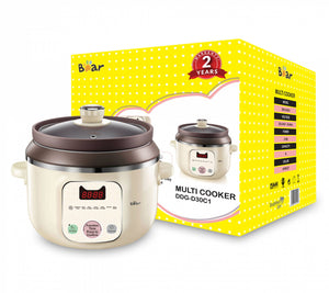 BEAR DDG-D30C1 MULTI COOKER