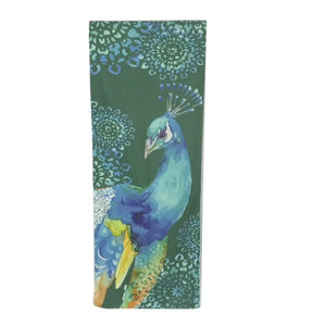 MasterMat Peacock Dance Silicon Nub Yoga Towel