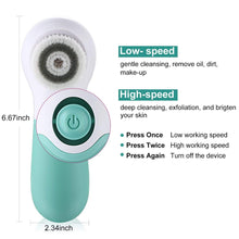 Load image into Gallery viewer, Electronic Facial Cleanser rotate 360