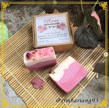 Load image into Gallery viewer, Rose Handmade soap