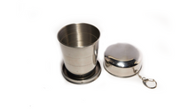 Load image into Gallery viewer, Stainless Steel Portable Collapsible Cup