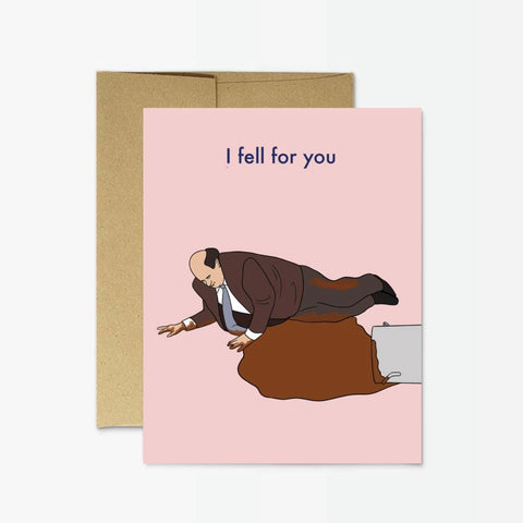 Kevin Fell for You Card